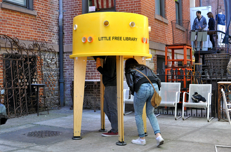 Little Free Library, Stereotank