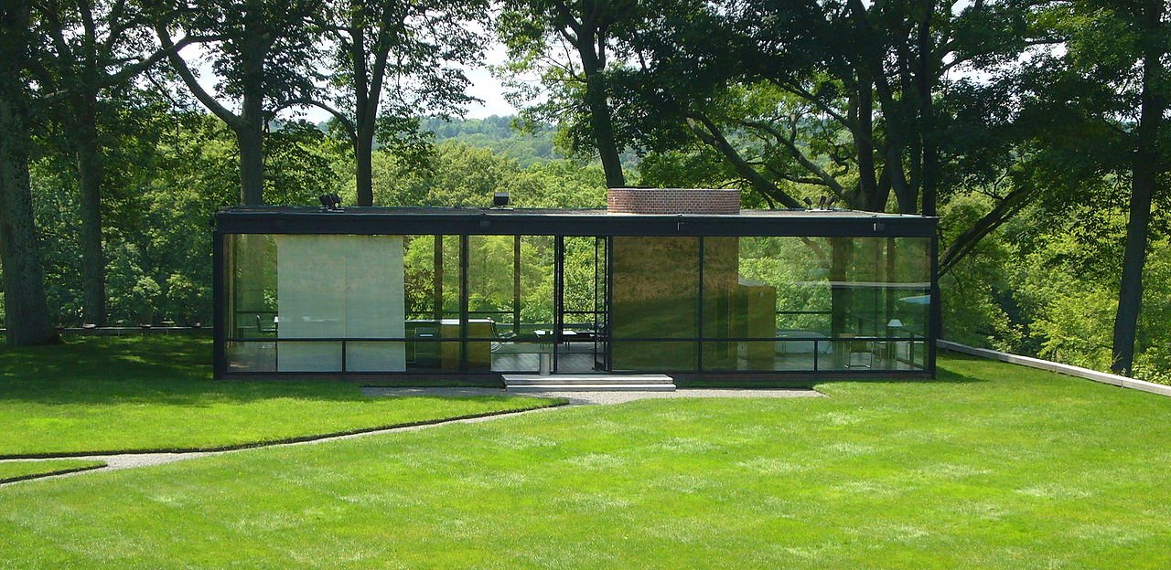 Glass House, Philip Johnson