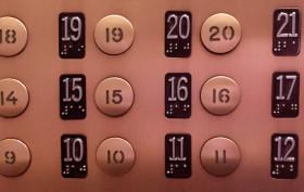 elevator no 13th floor