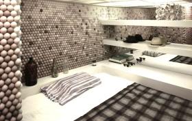 Daniel Arsham, ping pong ball apartment, Snarkitecture