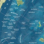 Jeffrey Lin, global warming map, NYC sea level