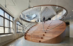 WORKac, Weiden + Kennedy, ArchDaily, building of the year 2015, boty 2015, interiors winner, archdaily interiors winner