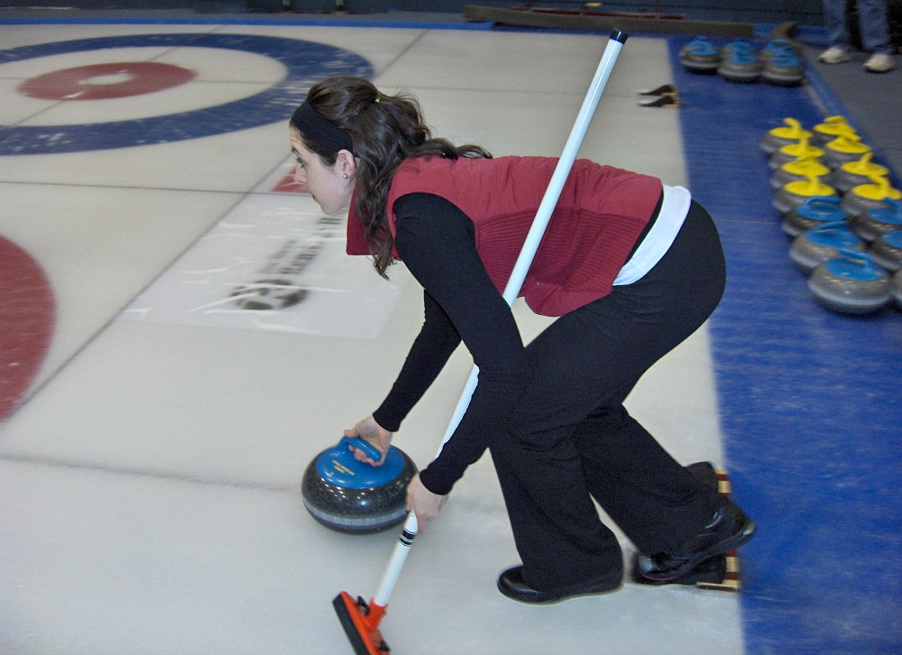 Kendall Speten-Hansen, CurlNYC, curling