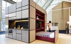 Luca Nichetto, Urban Capital, modular unit, Cubitat, Rubick's cube, Toronto's Interior Design Show, Sleek unit, Plug-and-Play Unit, Wex's River City 3 tower, Century Lofts,