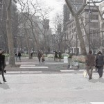 Hudson Square park, Mathews Nielsen Landscape Architects, Hudson Square Connection