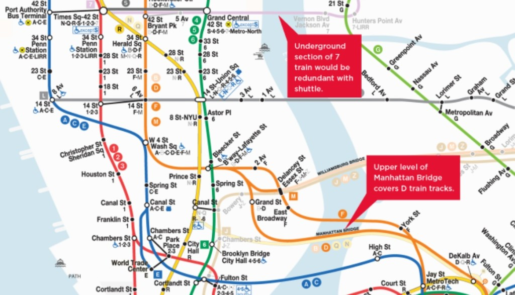 Grand Central Station Subway Map.Mapping How The Nyc Subway Could Operate In A 40 Inch Snowstorm 6sqft
