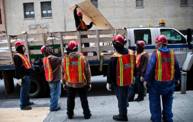 mta construction workers