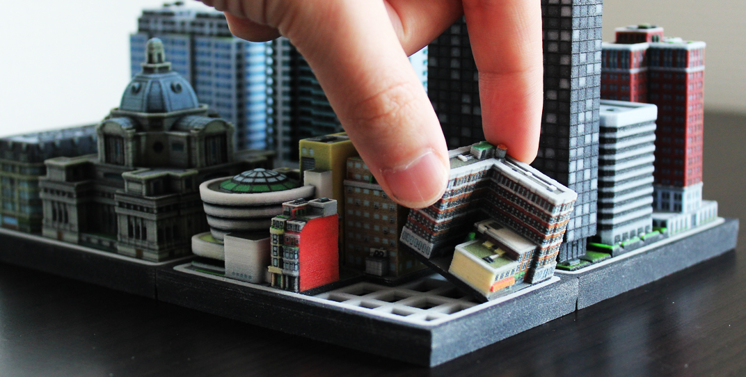 Build your own urban utopia with ittyblox 39 s ultra detailed for Build your own 3d house