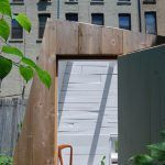 Hunt Architecture, The Brooklyn Garden Studio, wooden shack, cabin at a Brooklyn back garden, wooden retreat, city retreat,