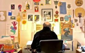 Milton Glaser studio