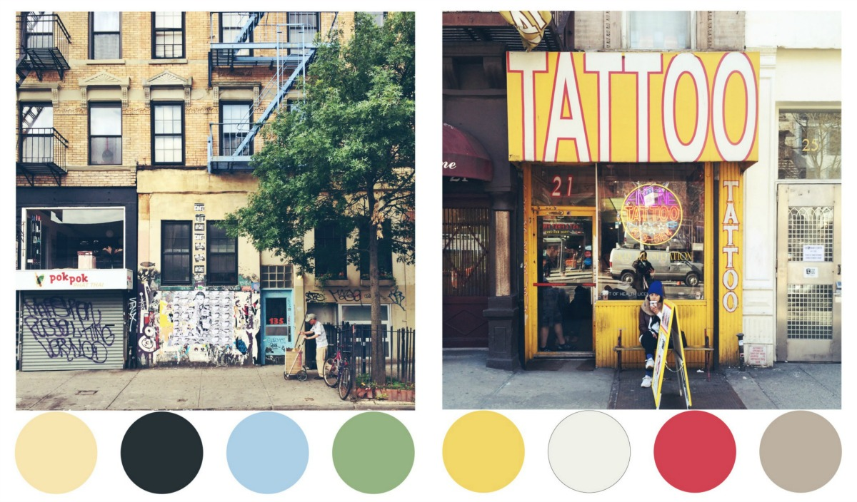 Color Me Nyc Turns Urban Streetscapes Into Color Palettes