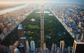 111 West 57th Street, SHoP Architects, world's skinniest tower, talleset residential building, NYC supertalls