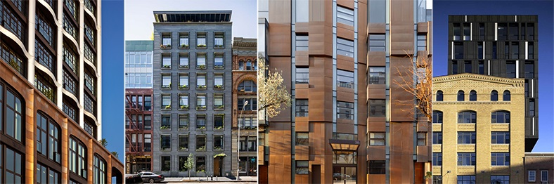 ODA Architects, Cast-Iron architecture, Walker Tower, JDS Development, Chelsea condos, B. Altman, Yves condo, bluestone, SHoP Architects, downtown condos