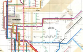 Massimo Vignelli Subway Map