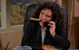 Elaine from Seinfeld, 212 area code