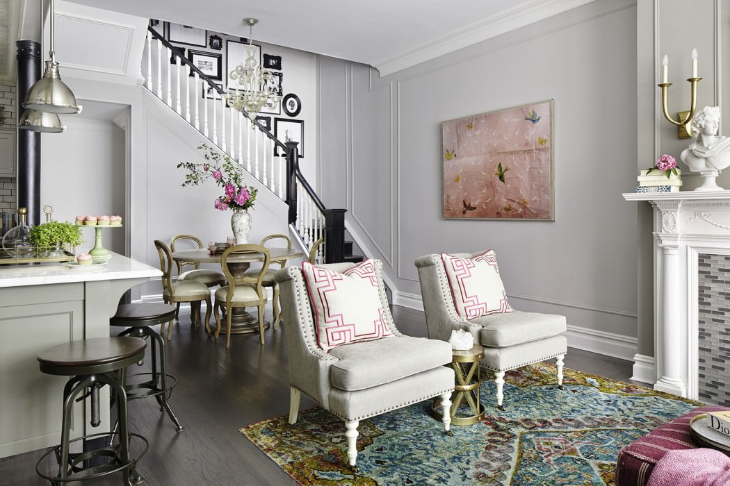 Rob stuart interiors infuses romantic turn of the century for Artful decoration interiors by fisher weisman