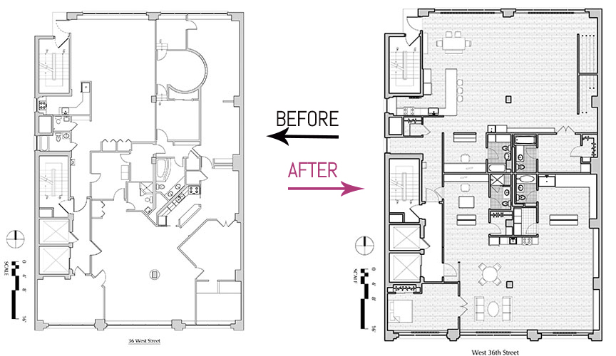 361 WEST 36TH STREET FLOORPLAN