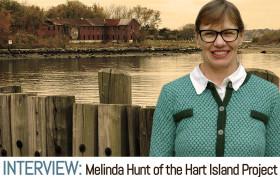 Hart Island, Hart Island Project, Melinda Hunt