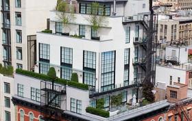 60 Warren Street penthouse