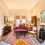 28 Garden Place, townhouse on coveted Brooklyn Heights block, original details, wood-burning fireplaces