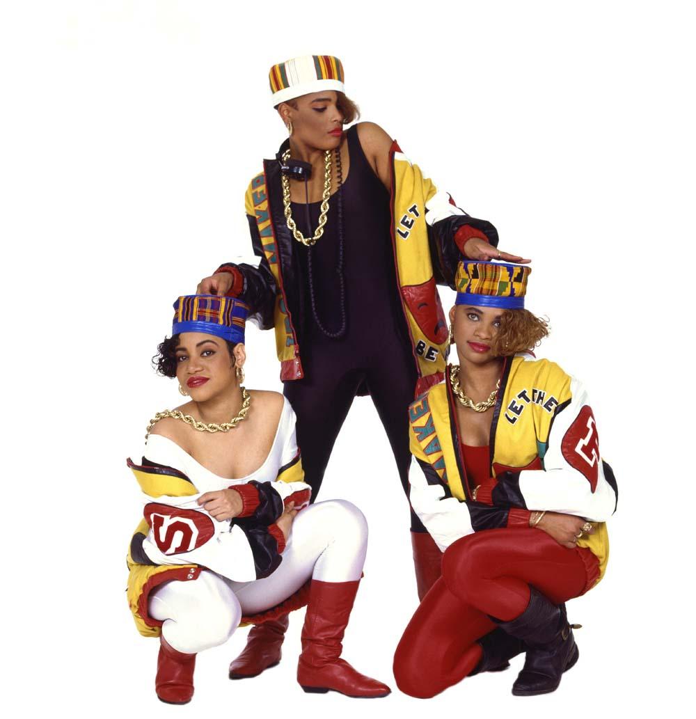 Salt N Pepa. 1987. Photographer: Janette Beckman