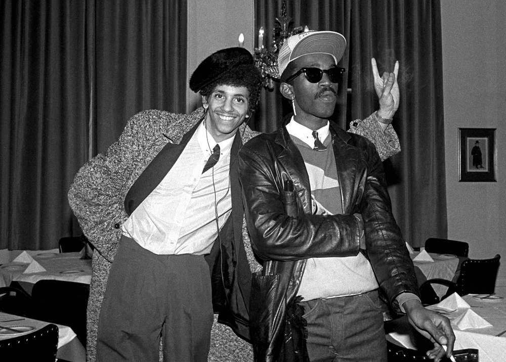 Rammellzee and Fab 5 Freddy. 1982. Photographer: Janette Beckman