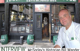 Bill Wander, McSorley's history, McSorley's, oldest bar in NYC