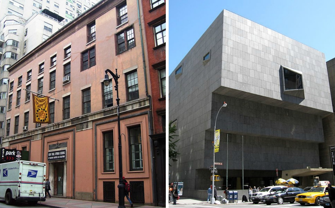 Marcel Breuer, Whitney Museum of American Art, New York Studio School
