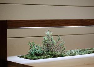 Love Hulten, self-sufficient garden, wooden desk, Senescent Desk, Swedish design