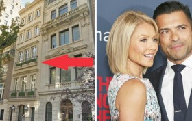 Kelly Ripa, Mark Consuelos, 12 East 76th Street, Upper East Side Townhouse