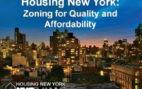 Housing New York, NYC zoning, Department of City Planning