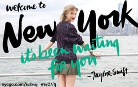 taylor swift new york campaign