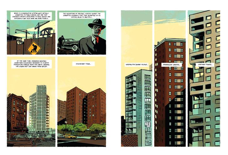 Robert Moses: The Master Builder of New York City, Pierre Christin, Olivier Balez