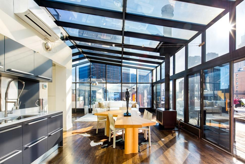 Penthouse From 9 1 2 Weeks Wants 20K Month Chelseas Oldest House Asks 65M