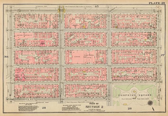 Sanborn map, fire insurance map