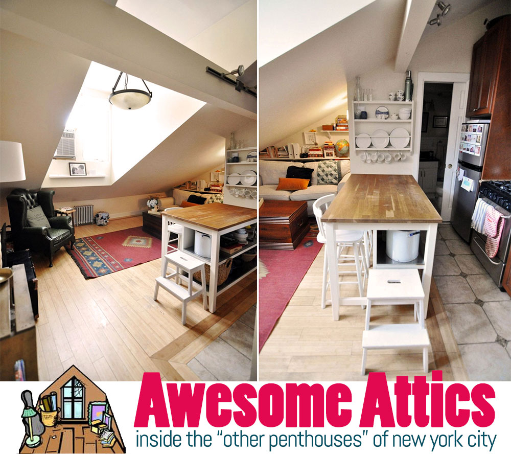 Awesome Attics: Inside The U0027Other Penthousesu0027 Of New York City