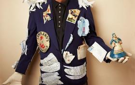 blue serge jacket