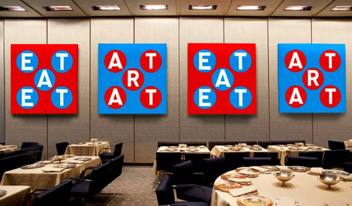Robert Indiana, Four Seasons restaurant
