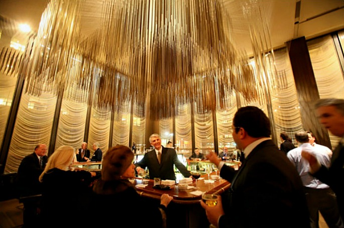 Richard Lippold, Four Seasons restaurant, Seagram Building