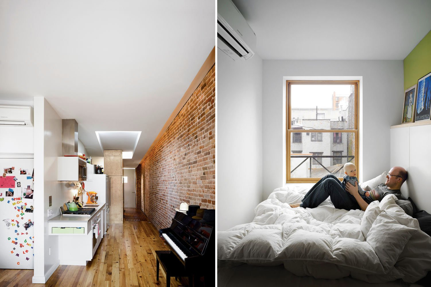 A Family of Four Squeezes into This Tiny 640-Square-Foot ...