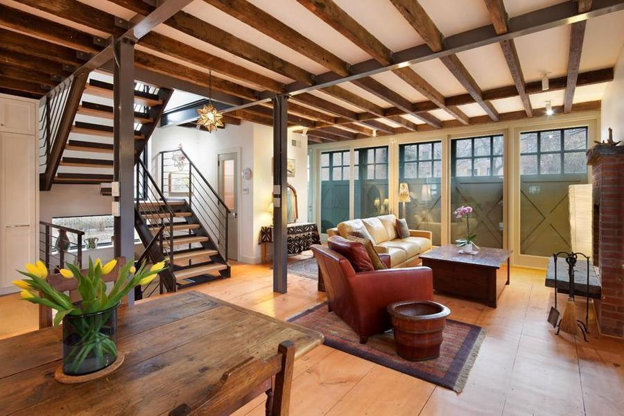 Renovated Carroll Gardens Carriage House Comes With A