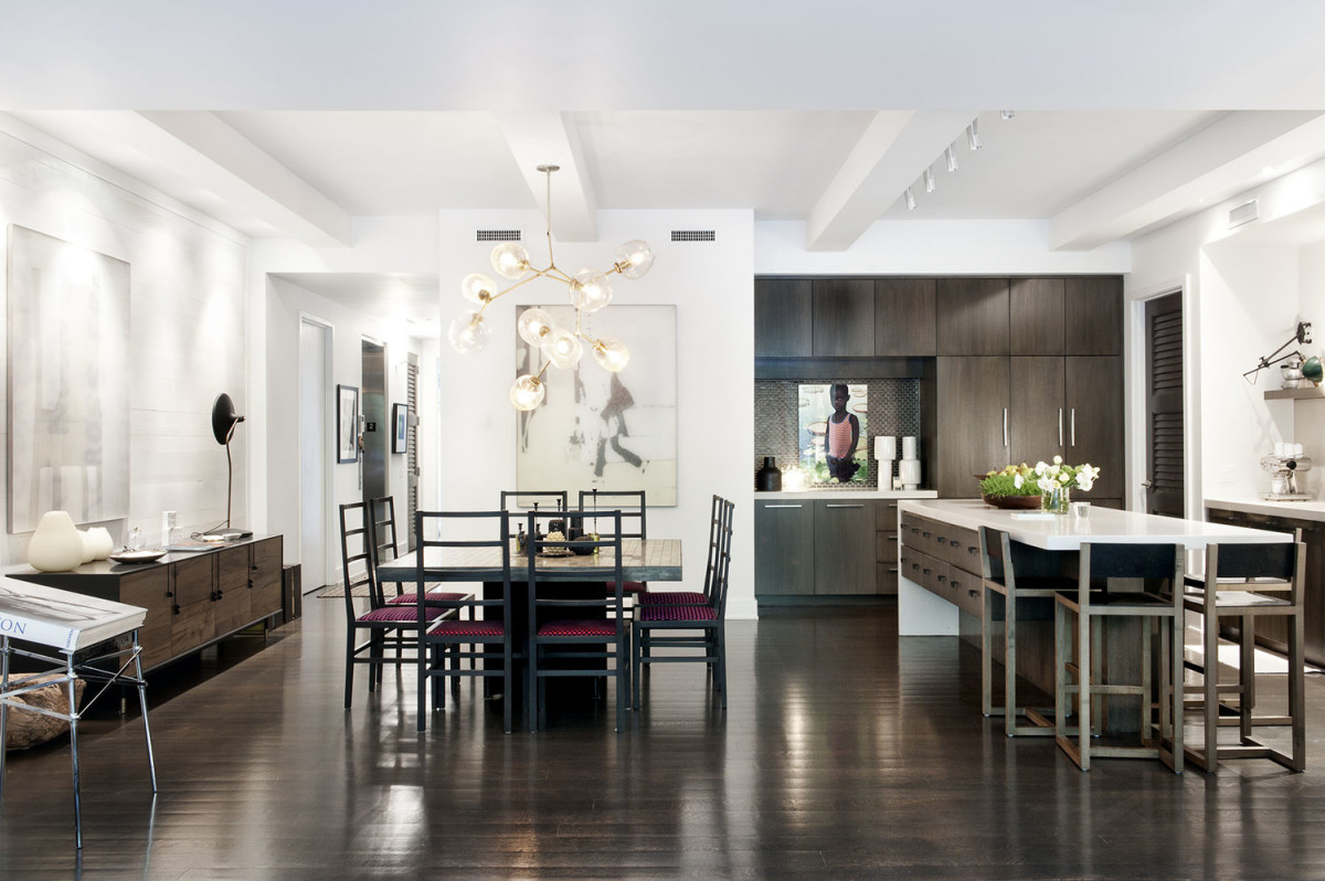 DHD Interiors\' Modern Loft Peacefully Coexists Among Gramercy Park\'s ...