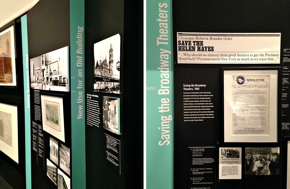Museum of the City of New York, Saving Place exhibit, NYC landmarks law