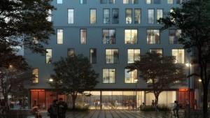 NYCHPD, Monadnock, My Micro NY, Micro-Apartments, Earth Day, nArchitects, modular construction