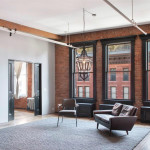 284 Lafayette Street, John Rochester Thomas, Surrogates Court, Squadron Armory, exposed wooden beams, exposed brick, skylights, original maple floors, high ceilings, children's wing, Million Dollar listing, aisha carter