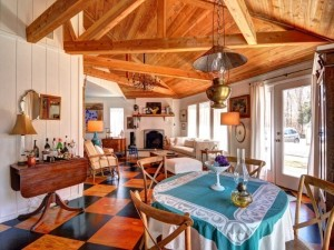 73 Waterhole Road, East Hampton, hexagonal home, beach bungalow