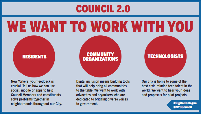 Council 2.0, New York City Council