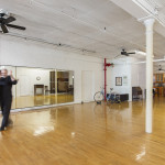 35 Bond Street, AIR co-op, giant arched windows, dance studio