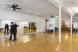 35 Bond Street, AIR co-op, giant arched windows, dance studio