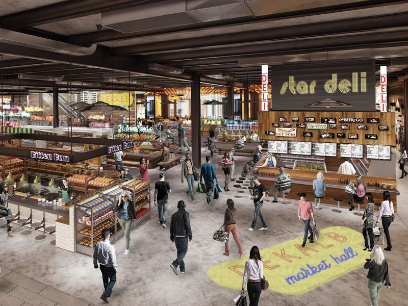 Enormous Authentic And Locally Curated Food Hall Coming